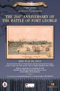 Battle of Fort George Re-enactment poster