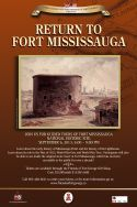 Return to Fort Mississauga event poster