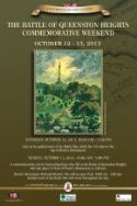 Queenston Heights Commemorative Weekend poster